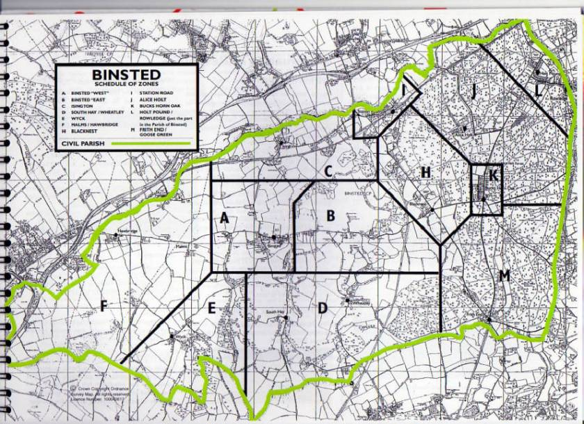 binsted parish council