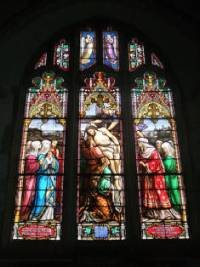 stain glass binsted