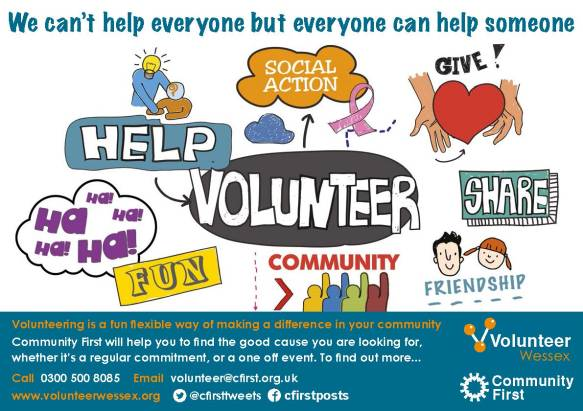 Volunteer Service Flyer and Advert march 2018 final